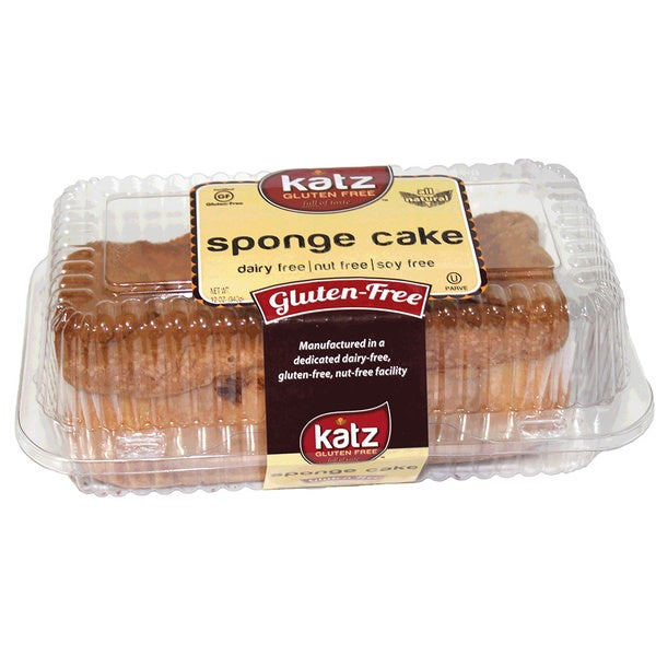 Katz Gluten-free Sponge Cake (2 Pack)