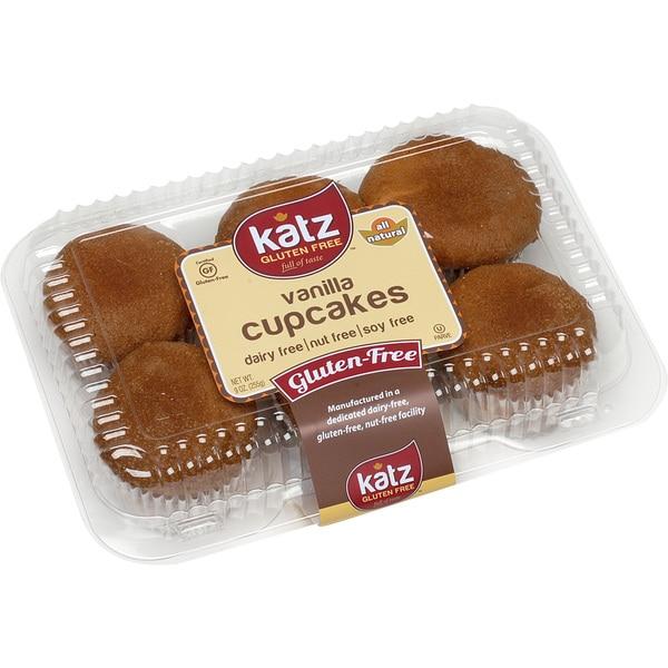 Katz Gluten-free Vanilla Cupcakes (2 Pack)