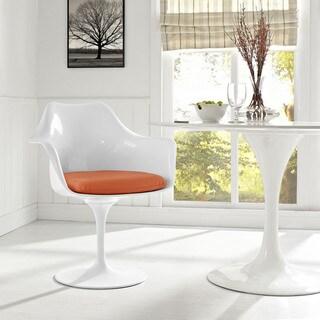 Lippa Vinyl Dining Armchair