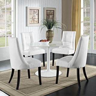 Noblesse Vinyl Dining Chair (Set of 4)