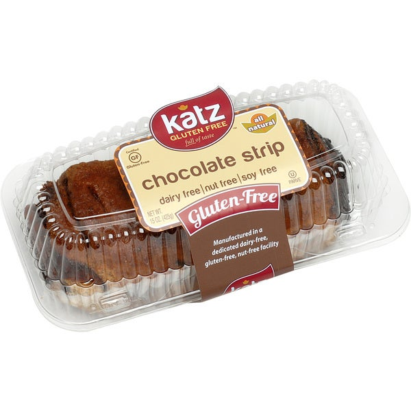 Katz Gluten-free Chocolate Strip (2 Pack)