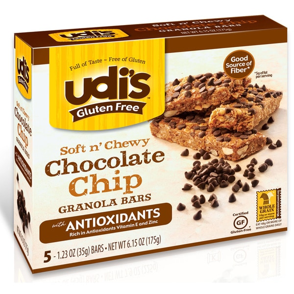 Udi's Gluten-free Chocolate Chip Granola Bars (2 Pack)