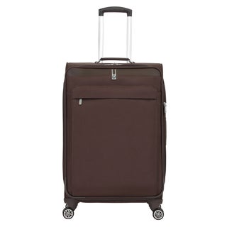 BMW 24.5-inch Brown Medium Spinner Upright Suitcase