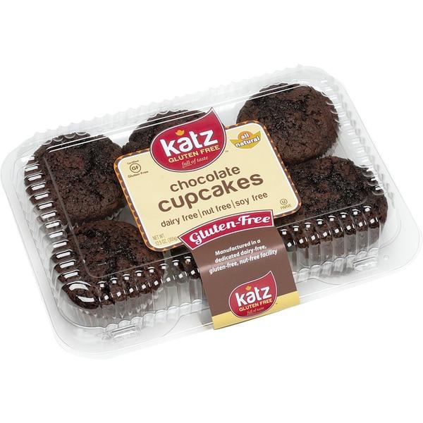 Katz Gluten-free Chocolate Cupcakes (2 Pack)