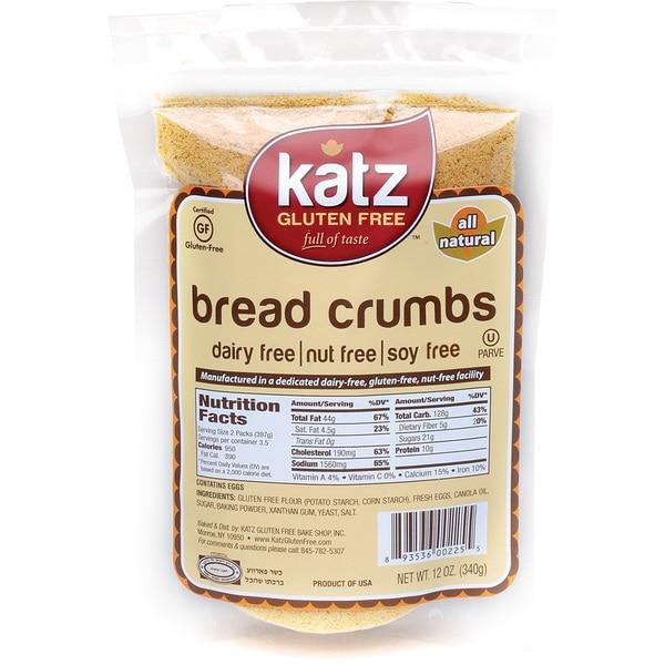 Katz Gluten-free Bread Crumbs (2 Pack)