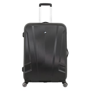 BMW 27-inch Black Medium Hardside Spinner Upright Suitcase