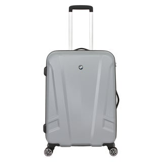 BMW 23-inch Medium Silver Hardside Spinner Upright Suitcase
