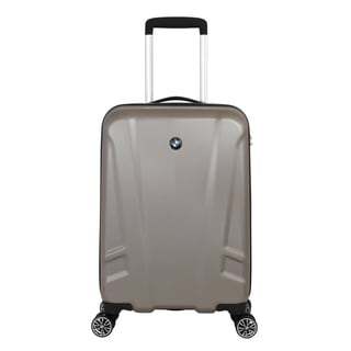 BMW Champagne 19-inch Hardside Carry On Spinner Upright Suitcase