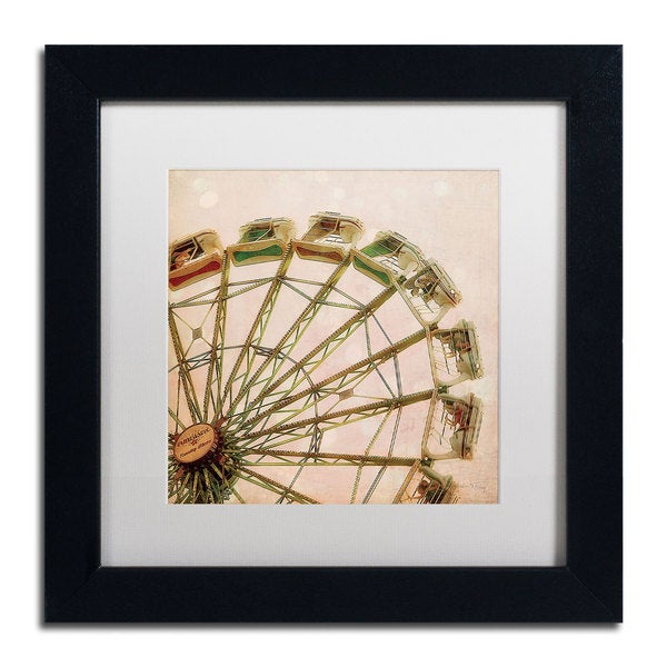 Maleah Torney 'Up Above the World So High' Framed Matted Art