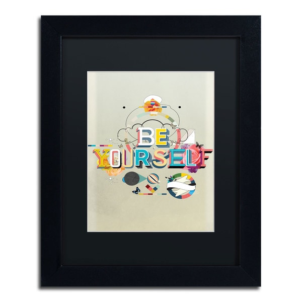 Kavan & Co 'Be Yourself' Framed Matted Art