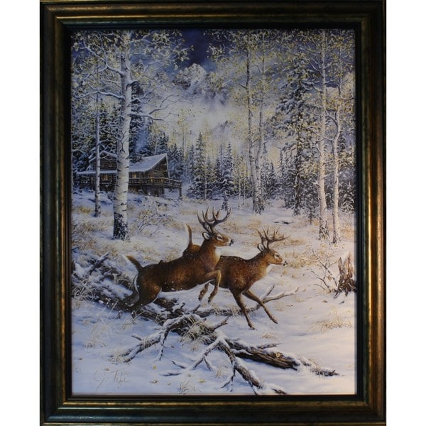 Jeff Tift 'A Pair' Framed Art Print