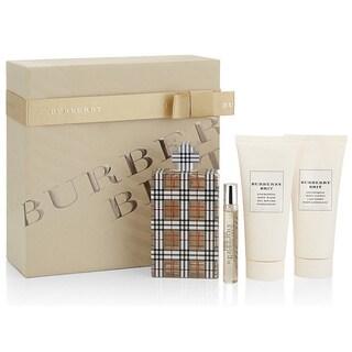 Burberry Brit Women's 4-piece Gift Set