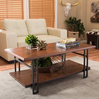 Newcastle Wood and Metal Coffee Table