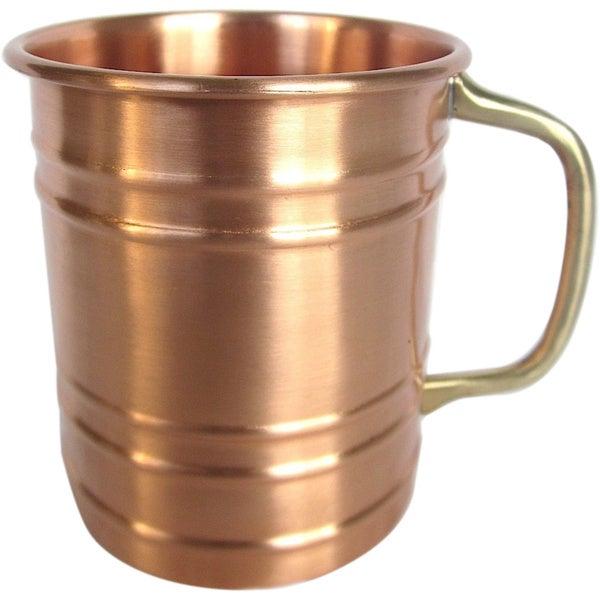 Solid 16-ounce Copper Mug