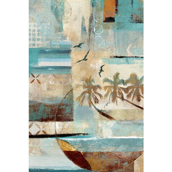 Tropical Mystique Printed on Canvas