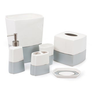 Austin Horn Classics York Stripe 6-piece Bath Accessory Set
