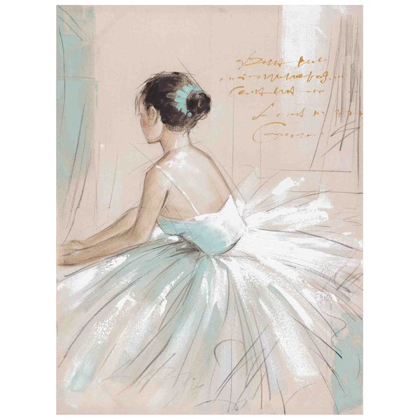 Prima Ballerina Original Hand painted Wall Art