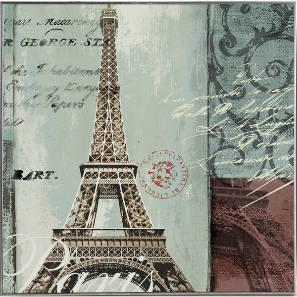 Eiffel Tower Original Hand painted Wall Art