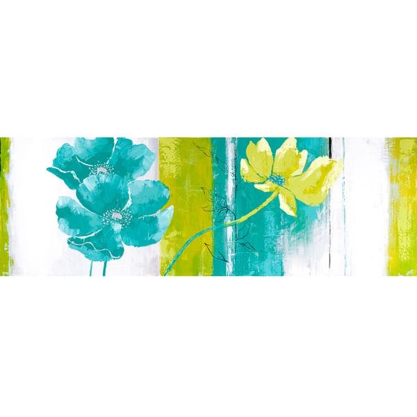 Blues and Greens I Original Hand painted Wall Art
