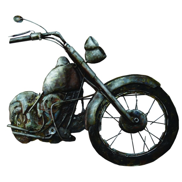 Motorcycle Relief Original Hand painted Wall Art