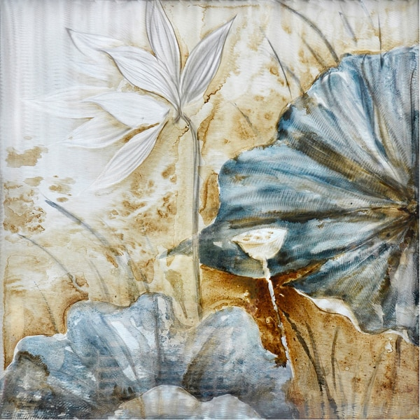 Blue Lotus Original Hand painted Wall Art