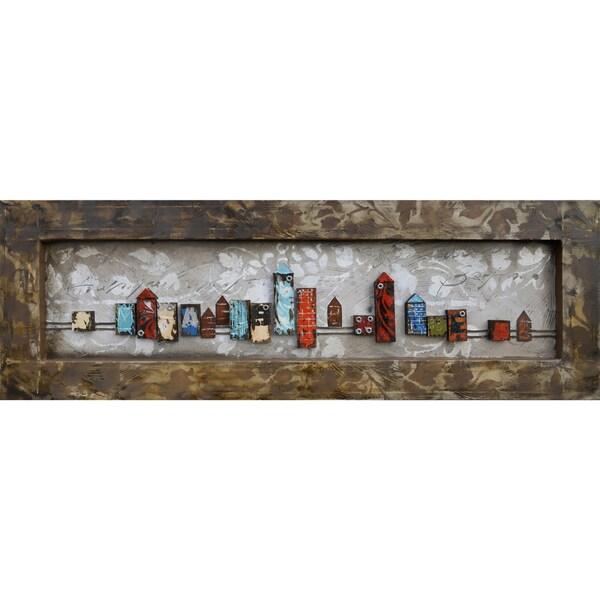 City Daylight Original Hand painted Wall Art