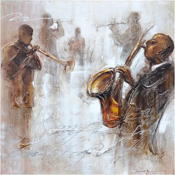 Jazz Movement II Original Hand painted Wall Art