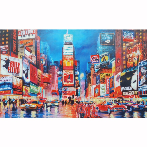 Broadway Bound Original Hand painted Wall Art