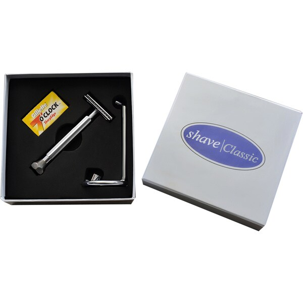 Shave Classic Black Bottom Razor 3-piece Kit