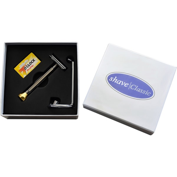 Shave Classic Smoked Razor 3-piece Kit