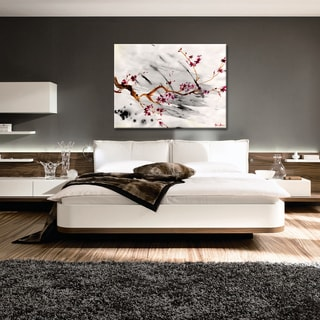 Ready2hangart Alexis Bueno 'Painted Petals XII' Canvas Wall Art
