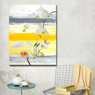 Ready2HangArt 'Painted Petals XXVI' Floral Canvas Wall Art