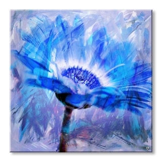Ready2HangArt 'Painted Petals XLII' Floral Canvas Wall Art