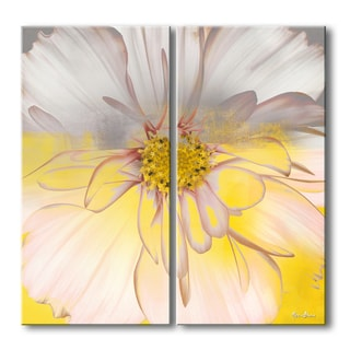 Ready2hangart Alexis Bueno 'Painted Petals XXXIV' 2-piece Canvas Wall Art