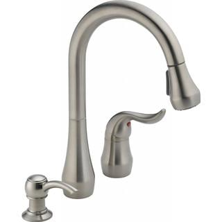 Peerless Apex Kitchen Single-handle Pull-down Stainless Kitchen Faucet