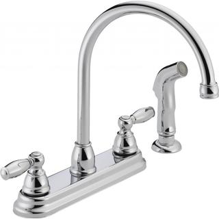 Peerless Apex Two-handle Chrome Kitchen Faucet