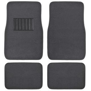 BDK Charcoal 4-piece Car Floor Mat Set