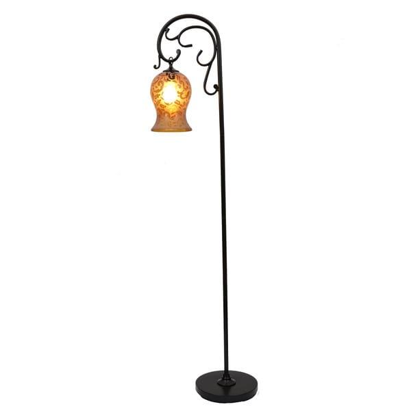 floor lamp 64 inch overstock shopping great deals on j hunt. Black Bedroom Furniture Sets. Home Design Ideas