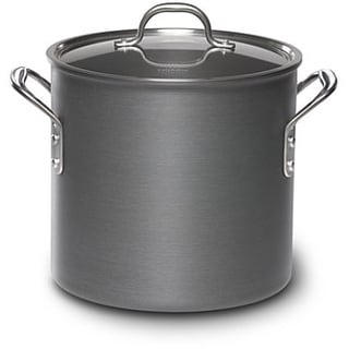 Calphalon 12-quart Hard-anodized Aluminum Stock Pot and Cover
