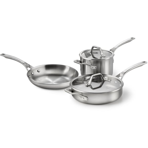 Calphalon AccuCore Stainless Steel 5-piece Cookware Set