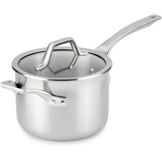 Calphalon AccuCore Stainless Steel 3-quart Sauce Pan with Cover