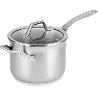Calphalon AccuCore Stainless Steel 4-quart Sauce Pan with Cover