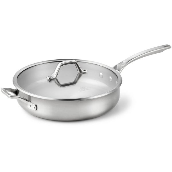 Calphalon AccuCore Stainless Steel 5-quart Saute Pan with Cover
