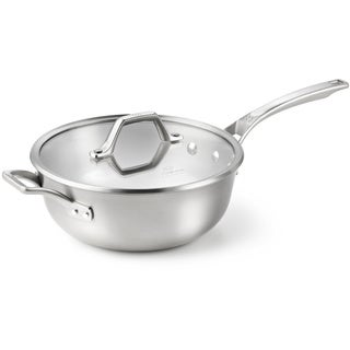 Calphalon AccuCore Stainless Steel 4-quart Chef's Pan with Cover