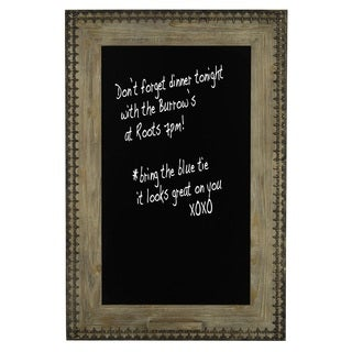 Cooper Classics Sue Decorative Wood Chalkboard