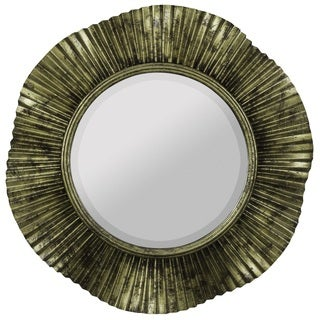 Maggie Antique Gold Finish Mirror