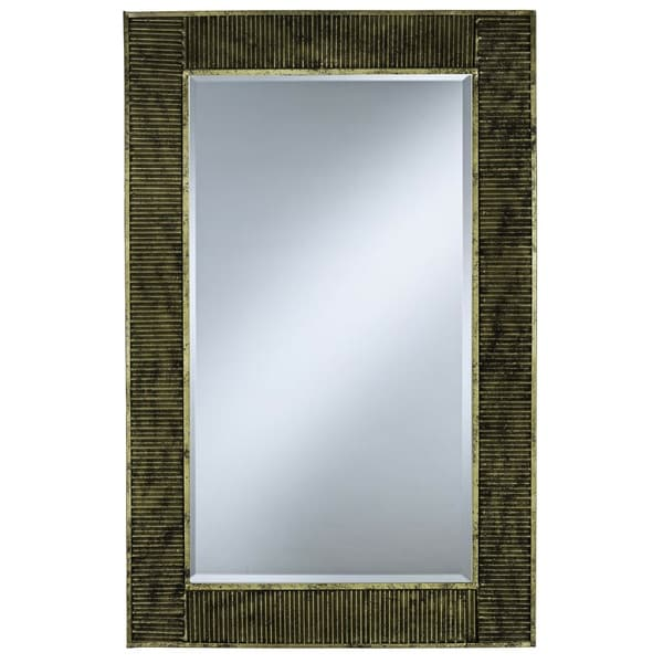 Renee Antique Gold Finish Mirror