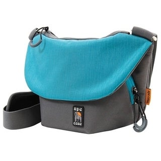 """Ape Case Tech Carrying Case (Messenger) for 7"""" Camera - Teal, Gray"""