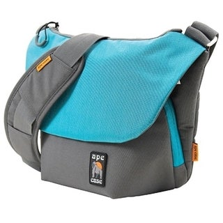 """Ape Case Tech Carrying Case (Messenger) for 11"""" Camera - Teal, Gray"""