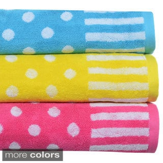 Teen Vogue On The Dot 3-piece Towel Set